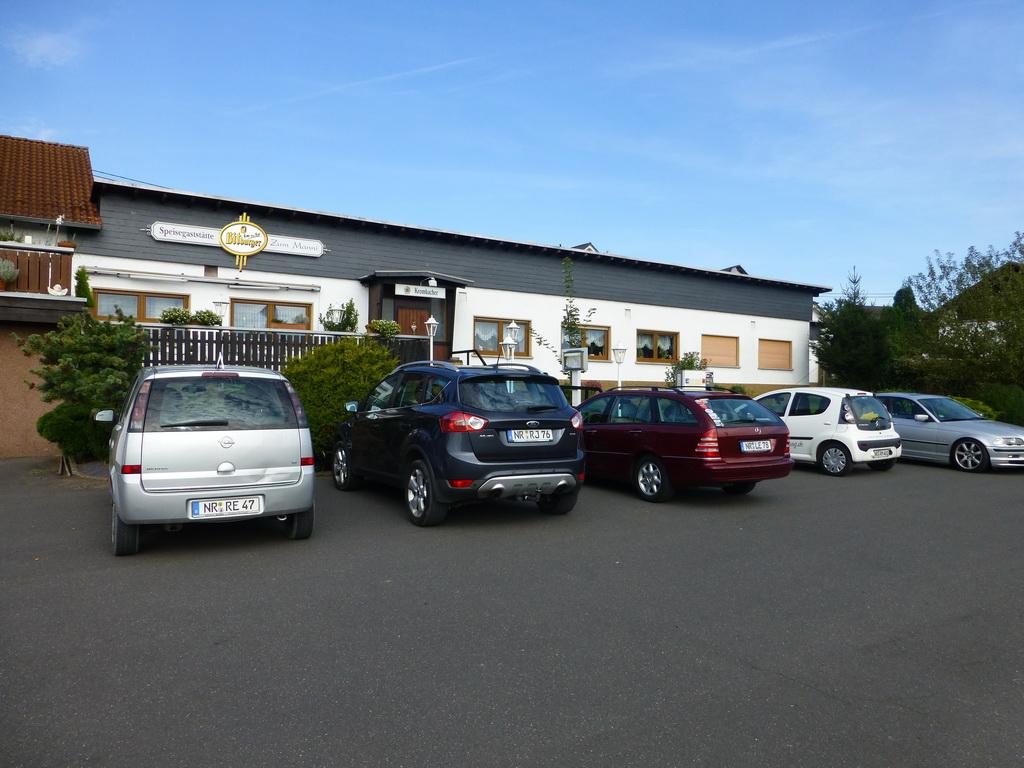 Unser großer Parkplatz
